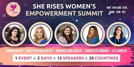 She Rises Women's Empowerment Summit tickets