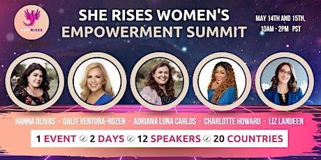 She Rises Women's Empowerment Summit Tickets
