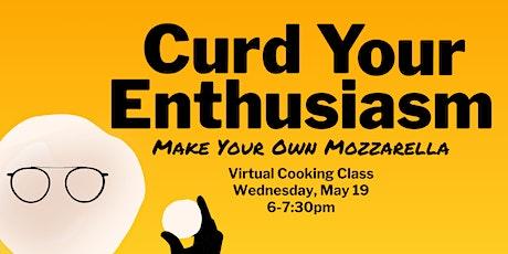 Curd Your Enthusiasm: Make Your Own Mozzarella tickets