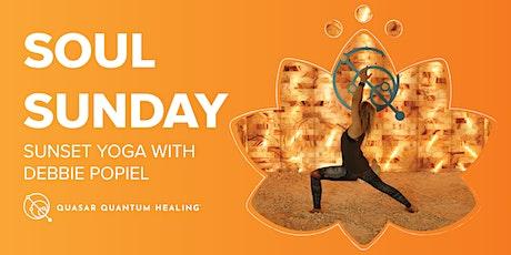 Soul Sunday | Sunset Yoga with Debbie Popiel tickets