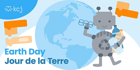 Build a plastic Recycling Robot for Earth Day! Free online workshop tickets