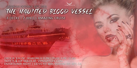 Marina Del Rey Halloween Haunted Blood Vessel Cruise tickets