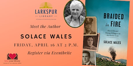 Meet the Author: Solace Wales tickets