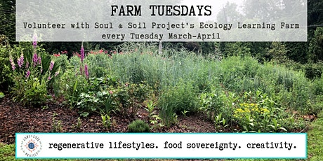 VOLUNTEER P.M. | Ecology Learning Farm, nonprofit tickets