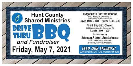 Annual  BBQ Drive Thru Lunch - Commerce Event at First Baptist Church tickets
