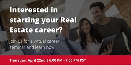 Real Estate Career Seminar tickets