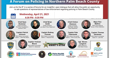 Forum on Policing in Palm Beach County tickets