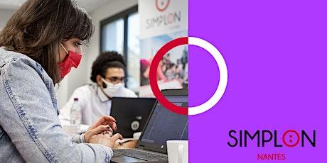 Atelier de découverte du code Simplon Nantes billets