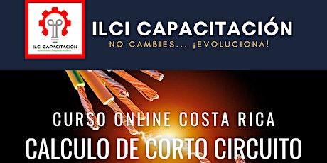 """Curso Gratuito Costa Rica """"Cálculo de Corto Circuito"""" ingressos"""