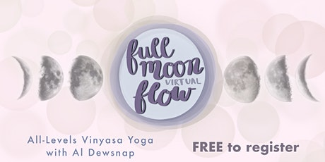 Full Moon Flow (Free Virtual Yoga Class) tickets