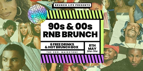 90s & 00s RnB Throwback Brunch tickets