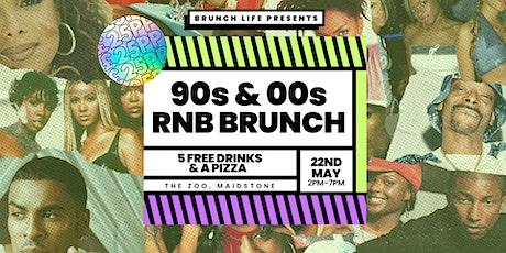 90s & 00s RnB Throwback Brunch tickets