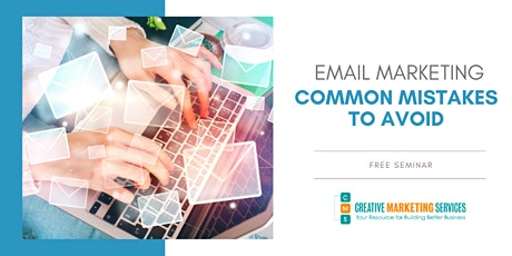 Live Webinar: Email Marketing: Common Mistakes to Avoid Which Are Limiting tickets
