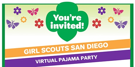 Girl Scouts San Diego Virtual Pajama Party! tickets