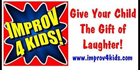 Improv 4 Kids 8-11 Online Classes tickets