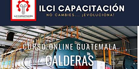 "Curso Gratuito Guatemala ""Calderas"" entradas"