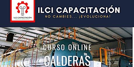 """Curso Gratuito México """"Calderas"""" entradas"""