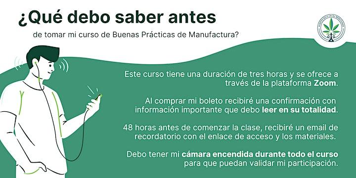 Buenas Prácticas de Manufactura | Online image