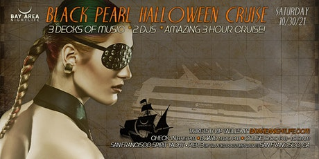 SF Halloween Party Cruise - Pier Pressure Black Pearl Yacht tickets