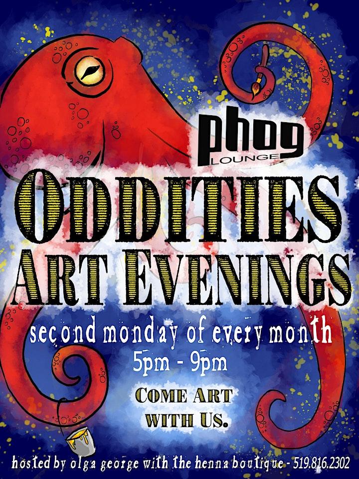 Oddities Art Evenings image