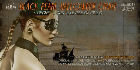 Boston  Halloween Black Pearl  Party Cruise tickets