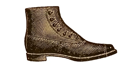 19th Century Footwear Innovations - Origins of the Modern Day Dress Shoe tickets