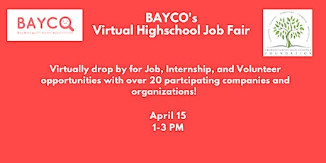 BAYCO's Virtual Job Fair tickets
