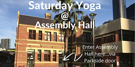 Saturday Yoga @ Boyd Community Hub tickets