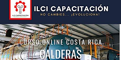 "Curso Gratuito Costa Rica ""Calderas"" entradas"