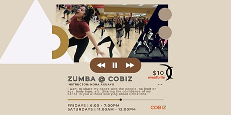 Rooftop Zumba @ CoBiz Richmond tickets