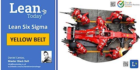 Corso Lean Six Sigma Yellow Belt (Zoom live) 24 Aprile (Italiano) biglietti
