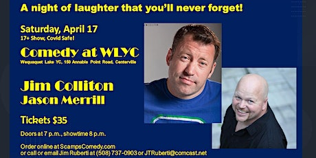 17+ Comedy with Jim Colliton, Jason Merrill tickets