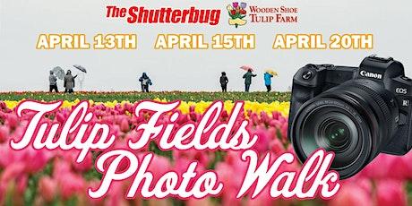 The Shutterbug's Wooden Shoe Tulip Farm Photo Walk tickets