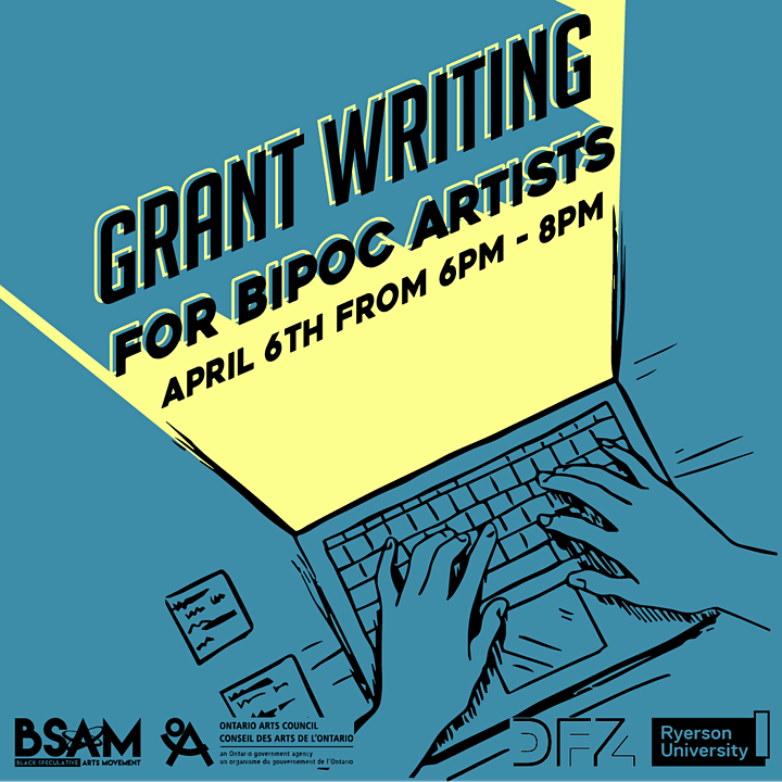 Grant Writing for BIPOC Artists image