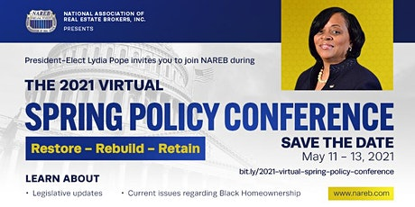 2021 Virtual Spring Policy Conference tickets