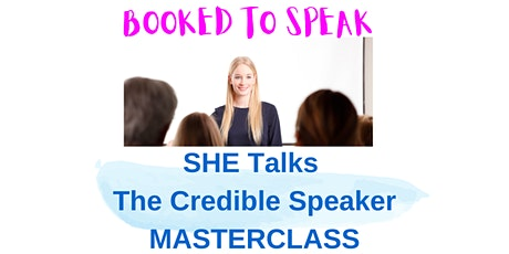 The CREDIBLE SPEAKER tickets