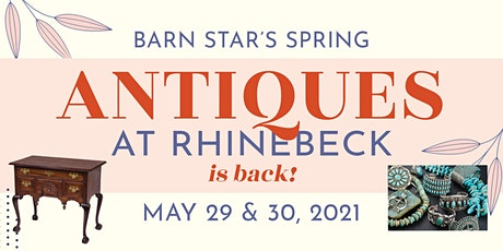 Barn Star's Spring Antiques at Rhinebeck! tickets