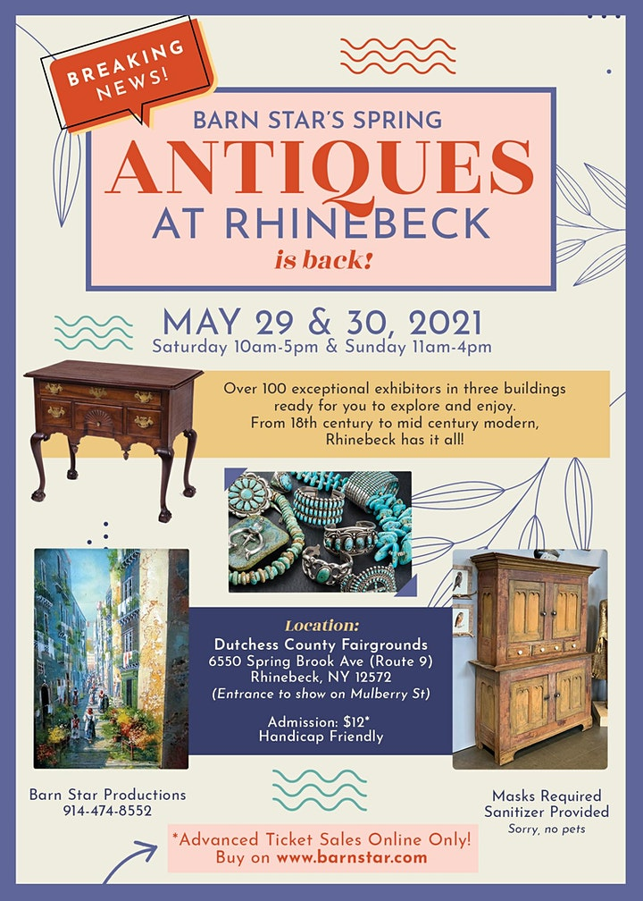 Barn Star's Spring Antiques at Rhinebeck! image