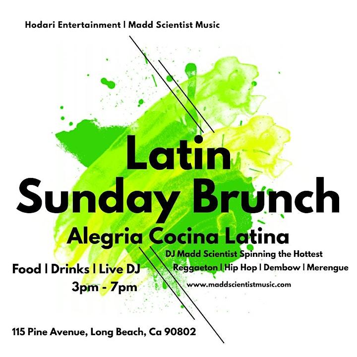 Latin Sunday Brunch @ Alegrias Cocina Latina in Long Beach image