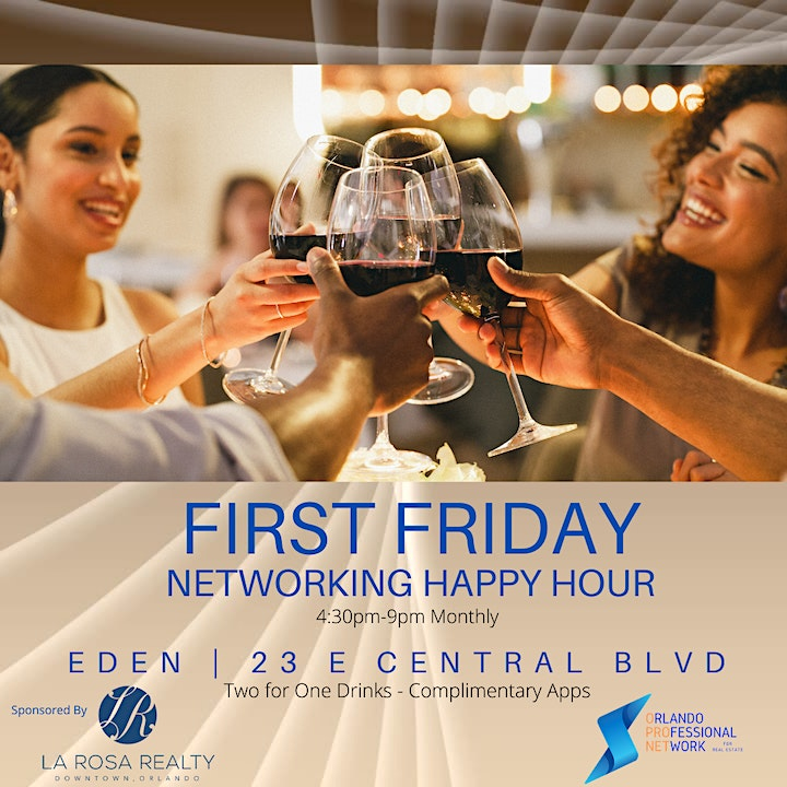 First Friday Network Happy Hour image