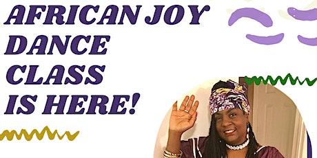 African Joy Virtual Dance Class tickets