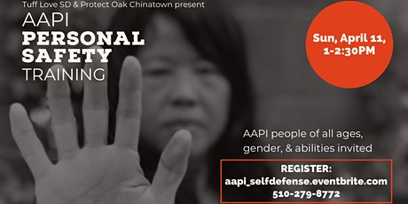 AAPI Personal Safety Training tickets