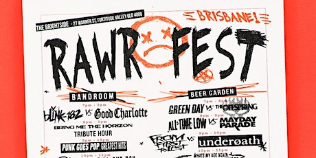 REGISTER FOR THE NEXT  RAWR FEST BRISBANE  - 2ND MAY IS SOLD OUT tickets