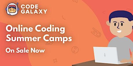 Python Coding Camp  (11-15 years old) biglietti