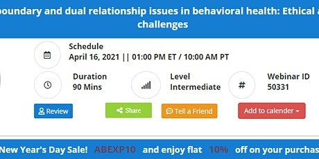 Managing complex boundary and dual relationship issues in behavioral health tickets