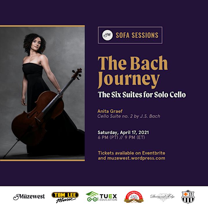 Anita Graef performs Bach's Second Cello Suite at Müzewest Concerts image