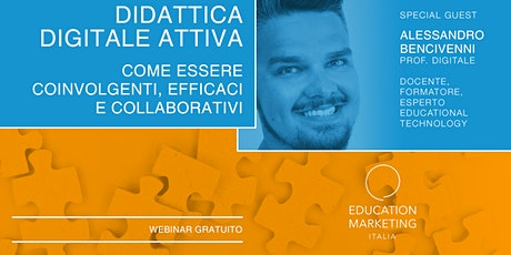 Didattica digitale attiva: i consigli di Prof Digitale · Webinar Live biglietti