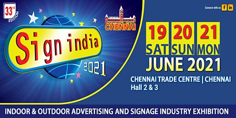 SIGN INDIA EXPO 2021 tickets