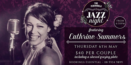 JAZZ NIGHT: Cathrine Summers tickets
