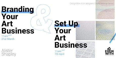 Art Business Series Webinar | Alister Shapley tickets
